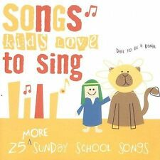 FREE US SHIP. on ANY 2+ CDs! ~Used,Good CD Songs Kids Love to Sing: More Sunday