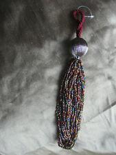 Rideau-soft furnishing accessoire bijoux multi couleur perles embrasses canapés