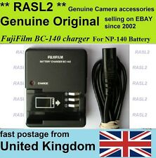 Genuina Original Fujifilm Cargador bc-140 Np-140 FinePix S100fs S200 Exr S205exr