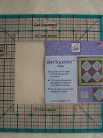 "GET SQUARED 8.5"" Ruler New June Tailor"
