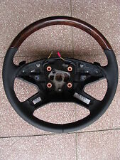 1 Mercedes Holzlenkrad w164 Holz gl ml r klasse Lenkrad AMG steering wheel wood