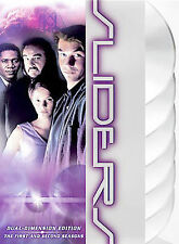 Sliders - Seasons 1 and 2 (DVD, 2004, 6-Disc Set) Watched Only Once!