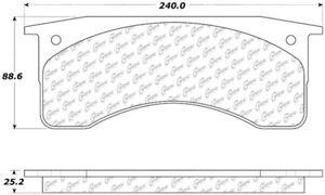 Disc Brake Pad Set-C-TEK Semi-Metallic Rear,Front Centric 102.07690