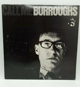 WILLIAM S.BURROUGHS - Call Me Burroughs  LP - USA 1966 - ESP 1050