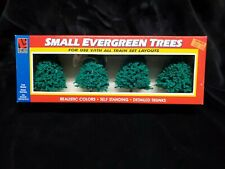 TRAIN TREES LOT 4 SMALL EVERGREEN NEW SEALED LIFE LIKE SCALE HO /N /S .