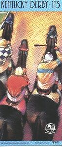 1987 - 113th Kentucky Derby program in MINT Condition - ALYSHEBA
