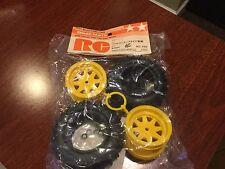 Vintage Tamiya FALCON Striker Sonic Fighter  Rear Wheel Tire Set 5288
