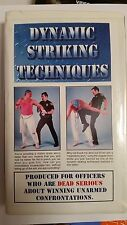 Dynamic striking techniques produced for officers 1996  vhs