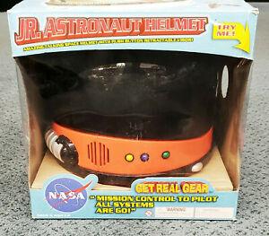 Orange NASA Child Astronaut Helmet with Sound Space USA Costume Visor Among Us
