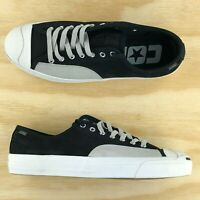 Converse Jack Purcell Pro Cons Ox Low Top Black White Grey Shoes 162510C Size 11