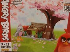 ✅Edukie Angry Birds 5-12 EK81013 55 Pcs Bird Rose-Building Blocks Ships 🚀 Free