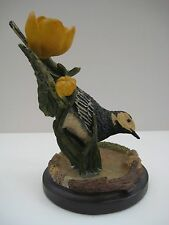 Decorative bird figurine, The country bird collection, The Pied Wagtail