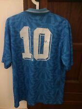 maillot maglia shirt naples napoli 10 voiello  umbro collector taille M   91/92