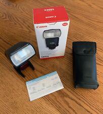Canon Speedlite 580EX Shoe Mount Flash for Canon (in original box)