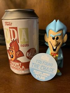Funko Soda Cereal Monsters Ad Icons - Count Chocula BLUE CHASE - 1 out of 1,200!