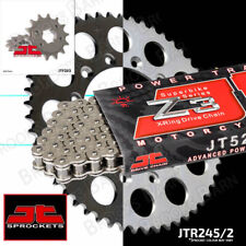 Hon NSR250 RG 1987 JT 520 Z3 X-Ring Silver Chain & Sprocket Kit (15/42T)