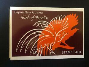 PAPUA NEW GUINEA STAMP PACK FULL SET 1991 BIRD OF PARADISE K10