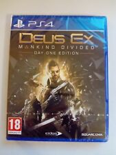 Deus Ex Mankind Divided™ Day One Edition (PS4) New & Sealed