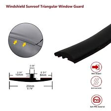 Rubber Seal Trim Prevent Water Leakage Windshield Sunroof Roof Top Window 144''