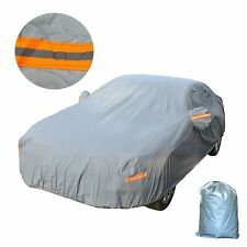 Waterproof Breathable Full Car Cover Sun UV Dust Rain Snow Resistant Protection