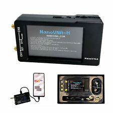 50K-1.5GHz NanoVNA-H HF VHF UHF Vector Network Analyzer Antenna Analyzer + Case