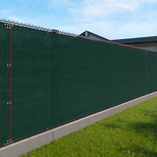 16ft green Fence Privacy Screen Commercial 95% Blockage Mesh Fabric w/Gromment