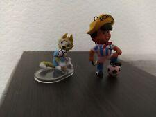 FIFA World Cup Argentine 1978 mascot, gum figurine keychain