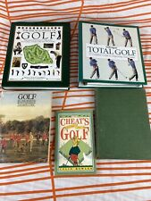 More details for vintage golf books, bundle of books about golf, house clearance rare golf books