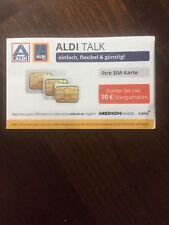 Aldi Talk Simkarte Tel 01777 - 57 - 82 - 10 mit 10 € Guthaben E plus O2 Handy