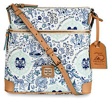 Disney Dooney & Bourke DVC 25th Vacation Club Letter Carrier Crossbody Bag NWT