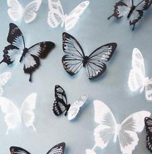 18 un. 3D Pared Adhesivo Decoración Hogar Arte Mariposa Sala De Decoración Pegatinas de vender Reino Unido