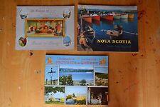 3 Vintage Tourist Catalogs Province de Quebec & Nova Scotia Canada