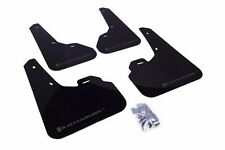 Rally Armor Black Mud Flap w/ Grey Logo For 10-13 Mazda3/Speed3