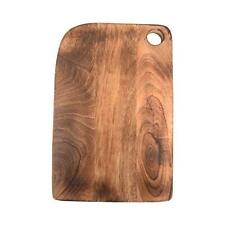 The Compact Mango Wood Chopping Board with Handle Vegetable Fruit