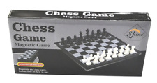 "Shine EXTRA LARGE FOLDING MAGNETIC CHESS BOARD 36X36CM LARGE 3"" INCH CHESS PIECE"