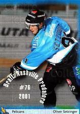 2002-03 Finnish Cardset #116 Oliver Setzinger