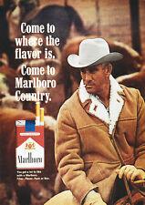 "Reproduction Vintage, Marlboro Man Poster, ""Come To MarlboroCountry"", Wall Art"