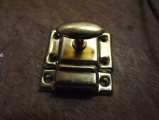 "cabinet latch 1-15/16"" x 1- 15/16""  1/2"" catch  Brass latch"