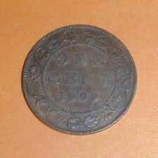 1909 Canada Large Cent AU