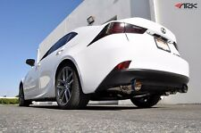 2014-2015 IS250 IS350 AWD ONLY ARK GRiP True Dual Exhaust w/ Polished Tips