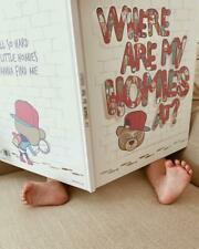 """NEW """"WHERE ARE MY HOMIES AT?"""" Children's Book- Novelty with Inscription"""