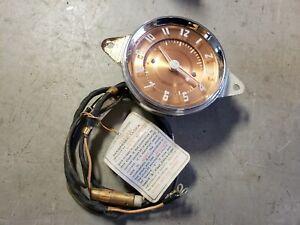 NOS 1949 Jaeger Clock Nash Buick Pontiac 1941 1942 1946 1947 1948 NA471