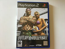 outlaw volleyball PS2 boite et notice