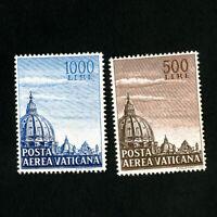 Vatican Stamps # C22-3 VF OG NH Scott Value $140.00