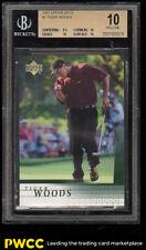 2001 Upper Deck Golf Tiger Woods ROOKIE RC #1 BGS 10 PRISTINE (PWCC)