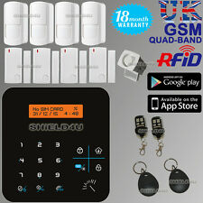 LCD WIRELESS RFID GSM AUTODIAL HOME OFFICE SECURITY BURGLAR INTRUDER ALARM SALES