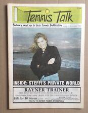 TENNIS TALK November 1992 STEFFI GRAF cover