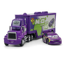 MT Car N20 COLA No.68 Mack Hauler Truck & Racer Diecast Toy Car 1:55 Loose