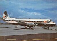 SkyBus Viscount 802 ZK-SKY c/n 168  Airplane Postcard