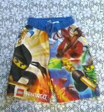 Lego Ninjago Masters Of Spinjitzu Boys Board Shorts - Size 8 Swimwear